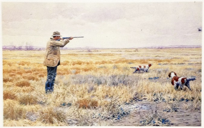 English Snipe Shooting - A.B. Frost